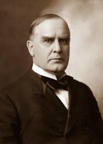 McKinley's War Message (Spanish-American War)