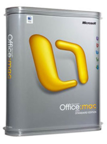 Office for Mac 2004 Professional Edition