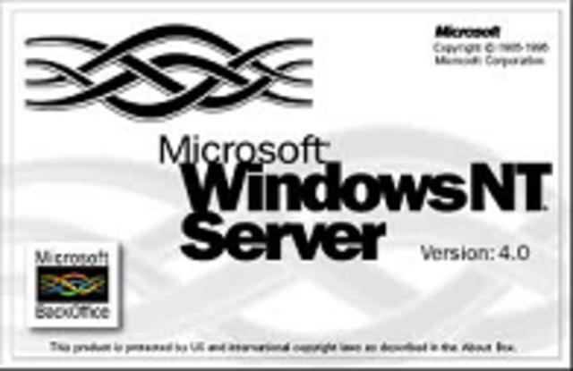 Windows 2000 server.