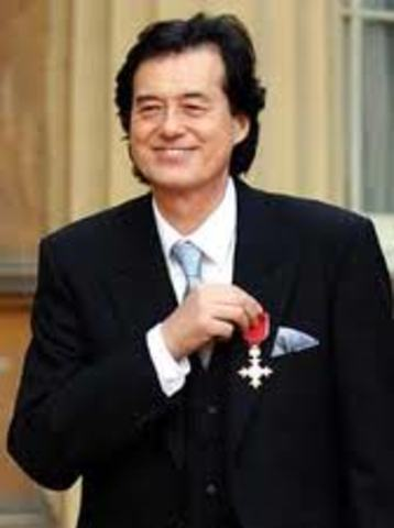 he was awarded to the OBE for his mission of charity ambassador on Brasil