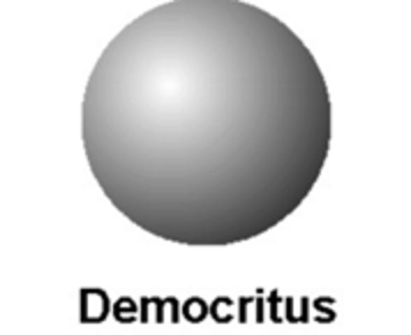 Democritus hypothesis