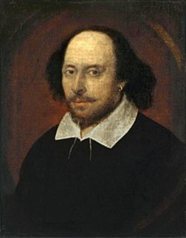 1564-1616 William Shakespeare