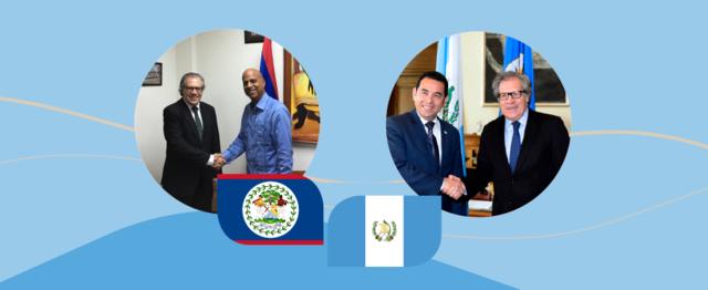 Diálogo entre Guatemala y Belize