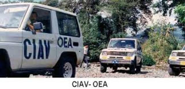 Misión CIAV en Nicaragua (1990-1997)