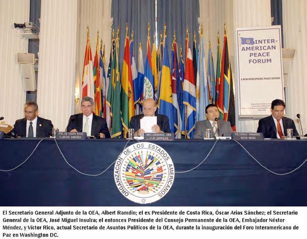 Foro Interamericano de Paz (Sept/2008)