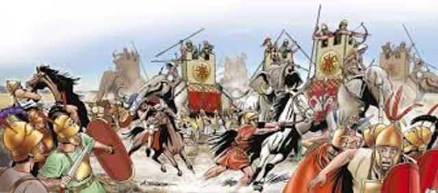 Los romanos acaban con los griegos