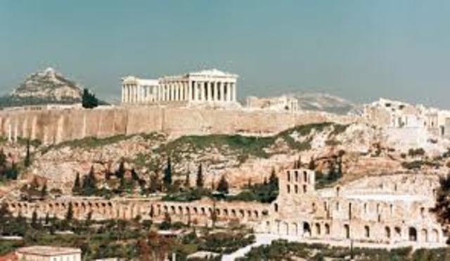 Acrópolis en las ciudades