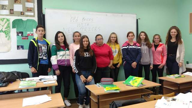 The students from Bulgaria