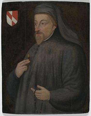 1343 Geoffrey Chaucer