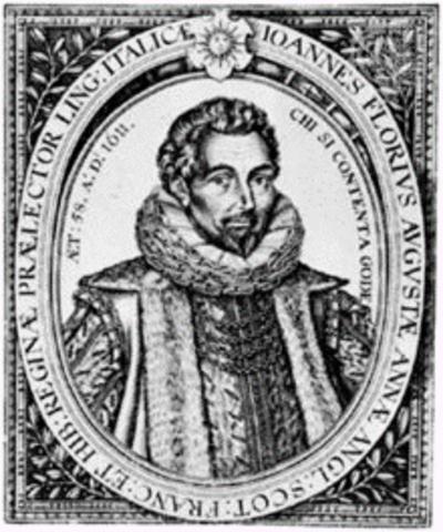 1553–1625  John Florio