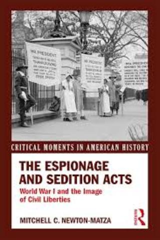 Espionage and Sedition Acts (WWI)
