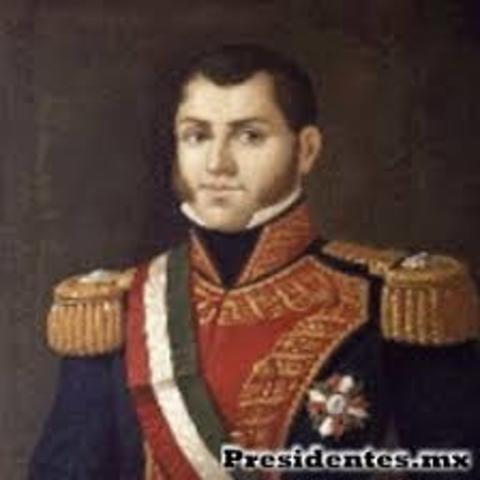 Primer Presidente de los Estados Unidos Mexicanos