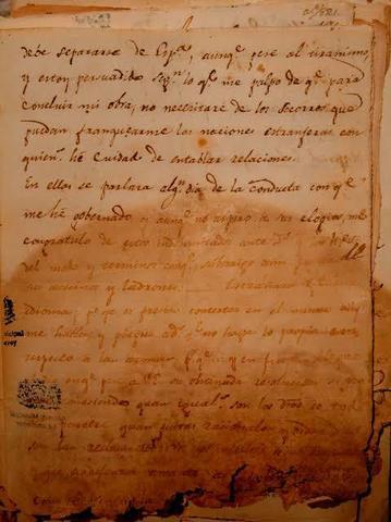 Conspiración con la que Iturbide intentó retomar el poder en México.