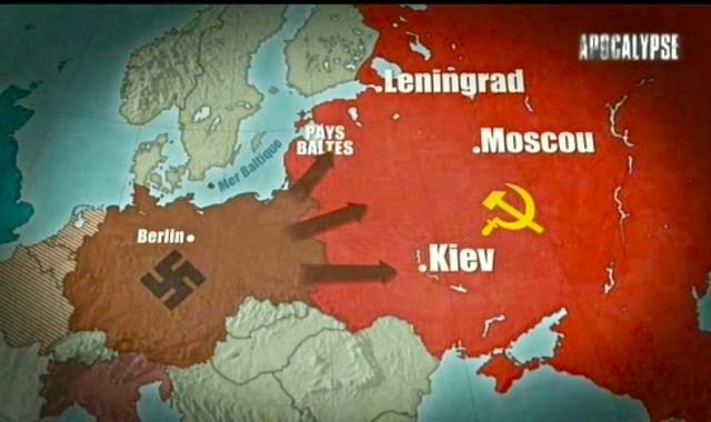 Attaque de l'URSS