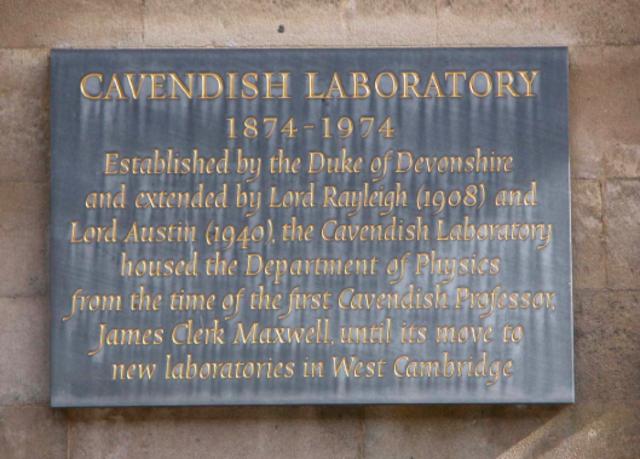 Chadwick & the Cavendish Laboratory