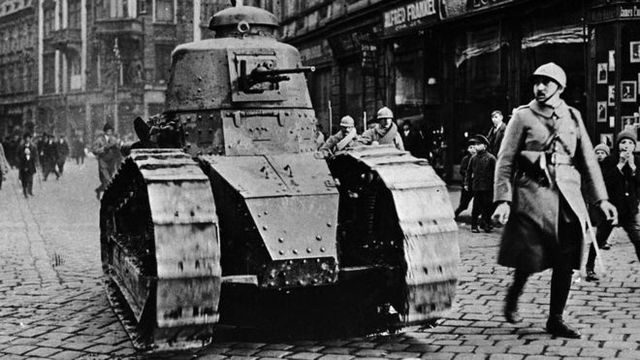 Schrödinger during the 1st World War