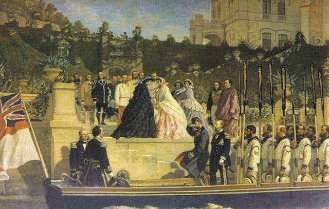 Maximiliano llega a la capital