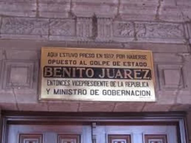 Golpe de Estado de Juárez