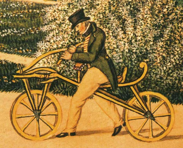 La Bicicleta con pedales