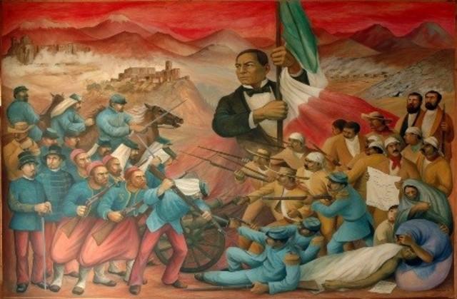 Llegada de Juárez