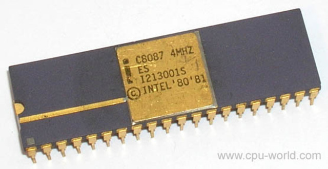 Coprocesador 8087