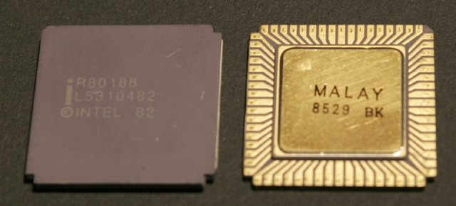 Microprocesadores 80186 y 80188