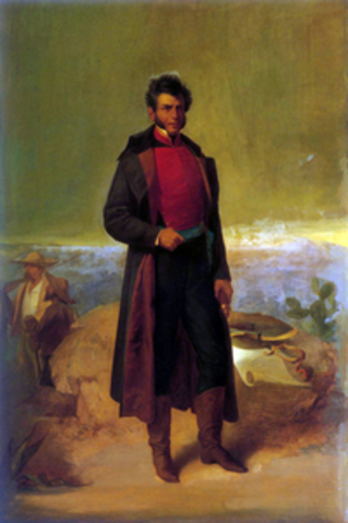 Vicente Guerrero en el poder