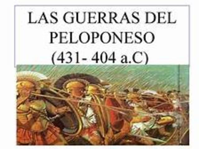 Principio de la Guerra del Peloponeso
