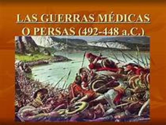 Principio de Guerras Médicas