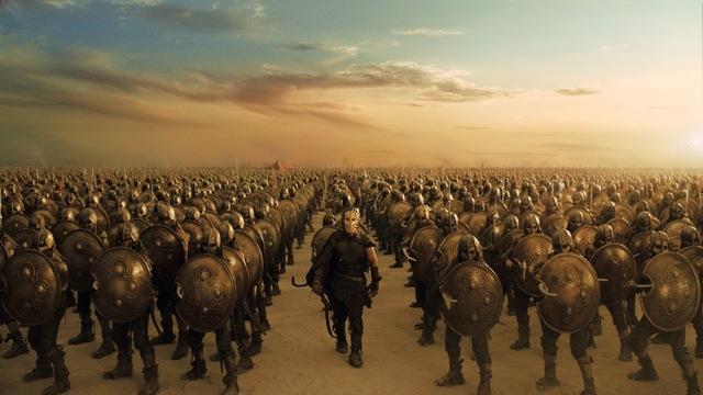 Principio de la Guerra de Troya
