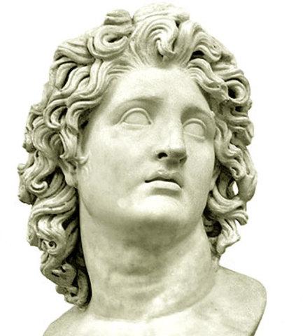 (GRECIA)Nacimento de Alejandro Magno