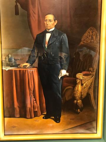 Juárez fue elegido presidente y anuncio suspender el pago de deuda