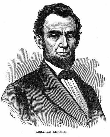 Preseident Abraham Lincoln Dies