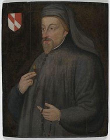 1367 William Langland - Geoffrey Chaucer