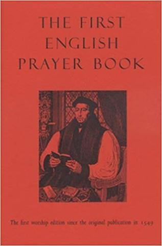 1549 The first version of the English prayer book