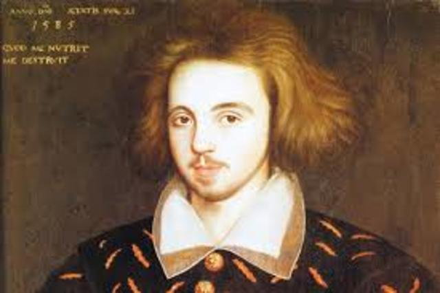 1564 Marlowe and Shakespeare