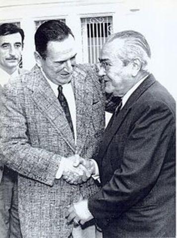 Regreso al poder de Juan Domingo Perón