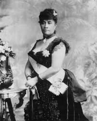 Hawaii: Overthrow of Queen Liliuokalani