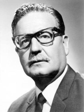 Salvador Allende toma el poder