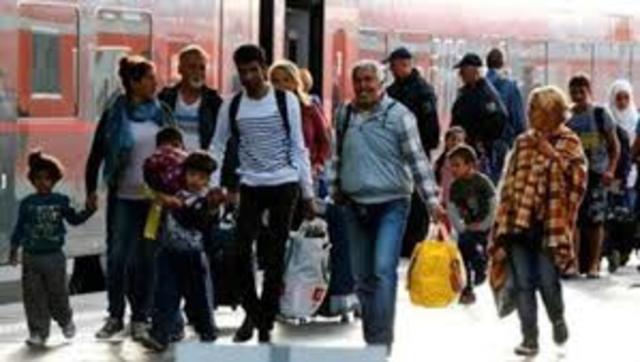Comienza la recepción de refugiados