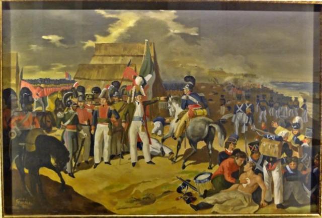 España intentó por última vez recuperar La Nueva España y fue derrotado por Santa Anna