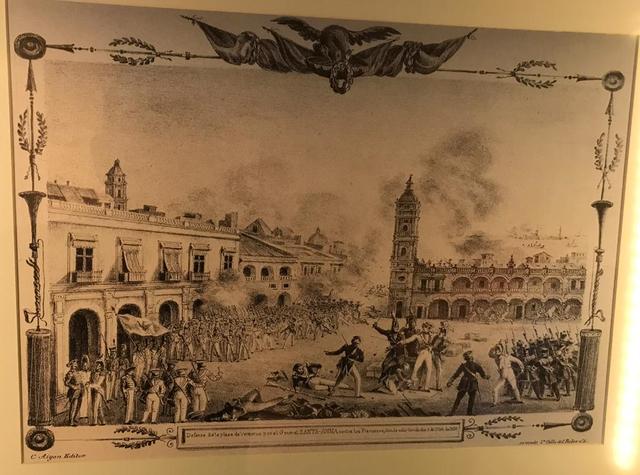 Defensa de Veracruz contra los franceses
