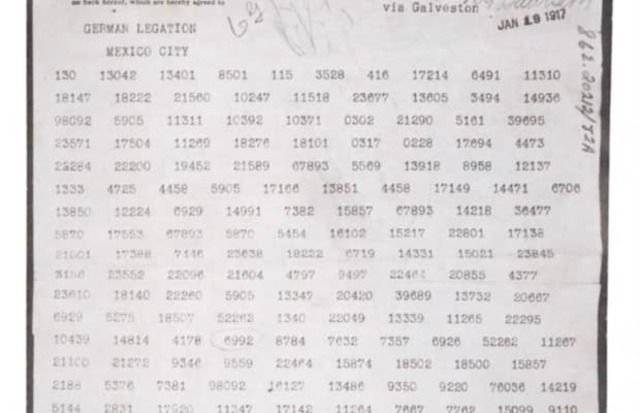 World War One: Zimmerman Telegram