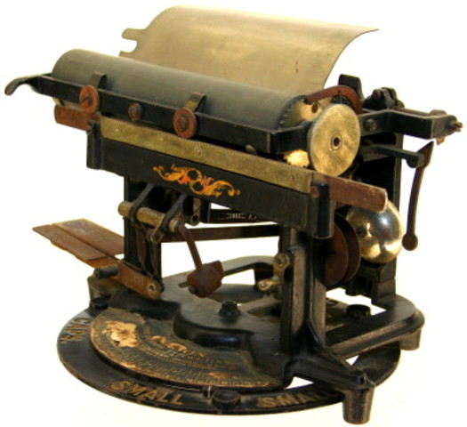 The First Electric Typewriter