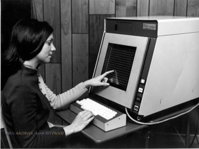 The First Touchscreen