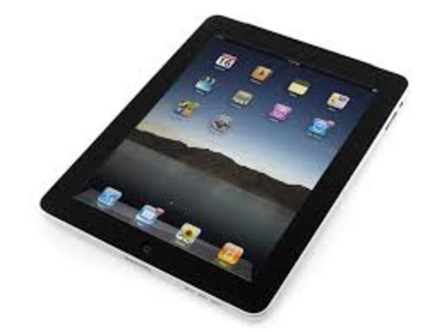 iPad, Google, and Amazon
