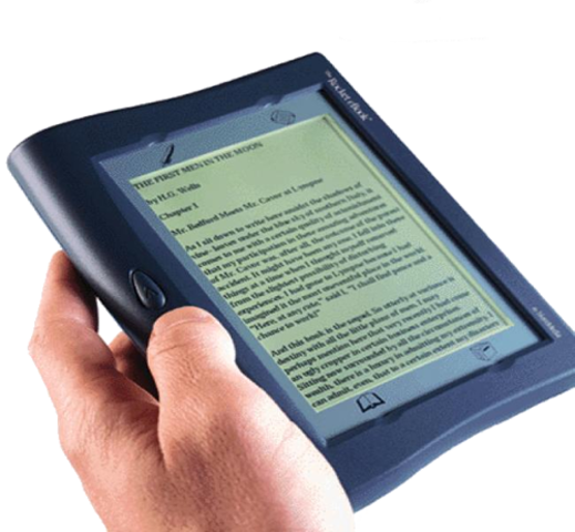 First E-book Readers