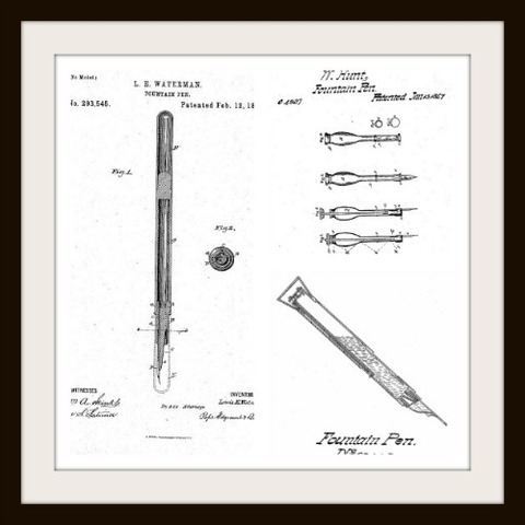The First Fountain Pen