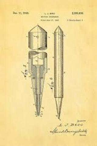 First Successful Ballpoint Pen