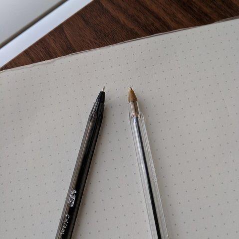 First BIC Pen